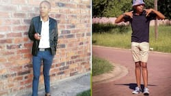 Man meets new mom who says baby daddy is ghosting her, Mzansi reacts