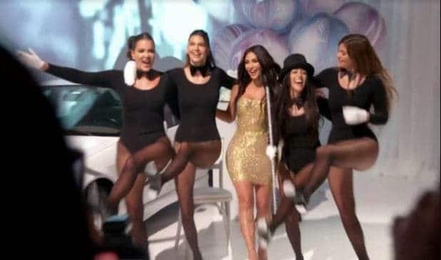 Kim Kardashian's family members surprise her with birthday bash (photos)