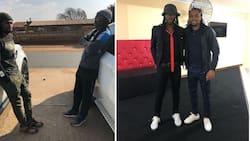 Mzansi joins Siphiwe Tshabalala in wishing Reneilwe Letsholonyane a happy birthday