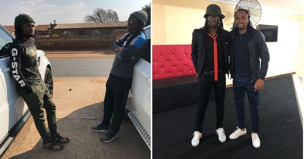 Siphiwe Tshabalala has wished his favourite friend Reneilwe Letsholonyane a happy birthday. Image: @SiphiweShabba/Instagram