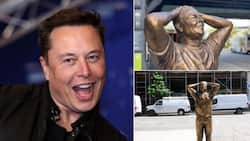 Elon Musk celebrates his 50th birthday, life-size statue erected in his honour