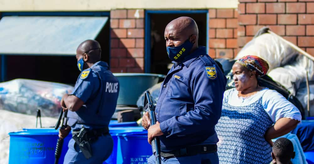 Civil Society Groups, stolen goods, looting in KwaZulu-Natal and Gauteng, police raids, South African Police Services, SANDF