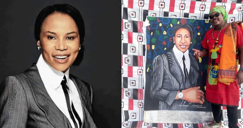 Mzansi Reacts Hilariously to Rasta's Precious Motsepe Portrait