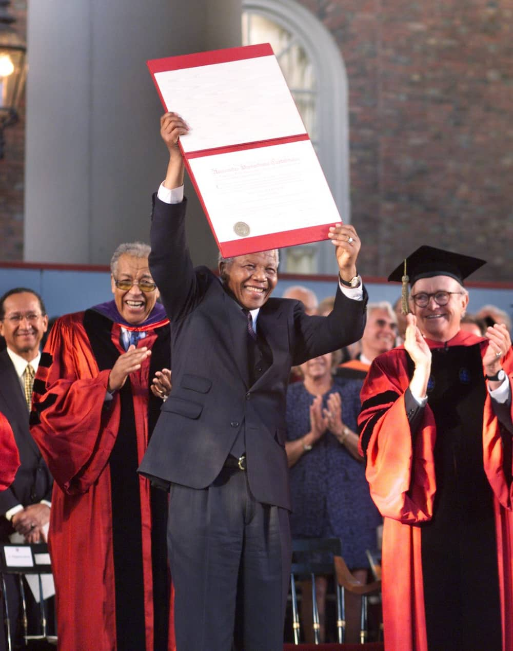 This day in 1998: Mandela awarded an Honorary Doctorate from Harvard