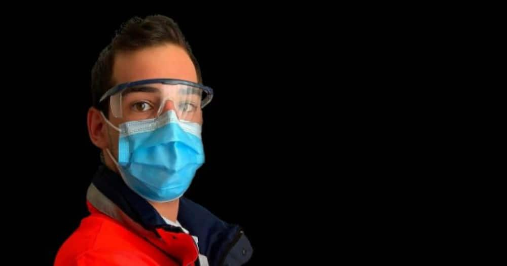 The survey found that 33% of people don't wear their masks when leaving the home. Photo credit: Facebook/Human Sciences Research Council