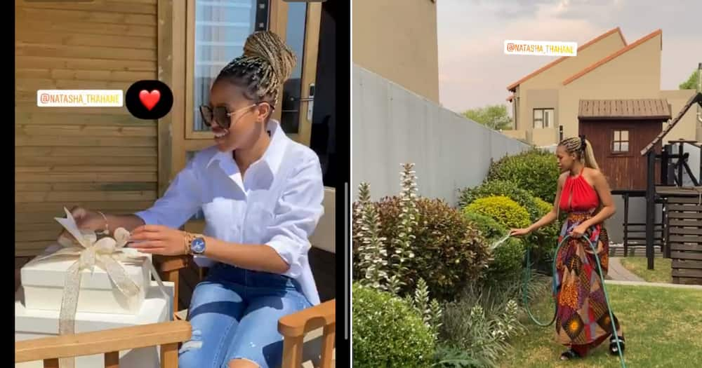 Thembinkosi Lorch, Natasha Thahane