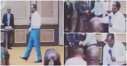 'Put it in my hand'- Video shows pastor asking his congregation for money