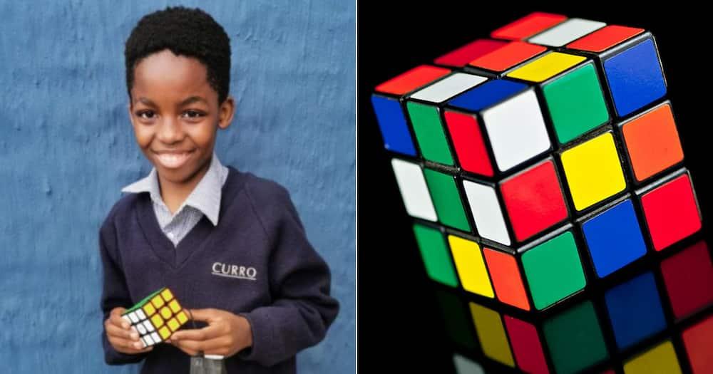 Ntokozo Khumalo, Rubik's Cube, One minute, Social media reactions
