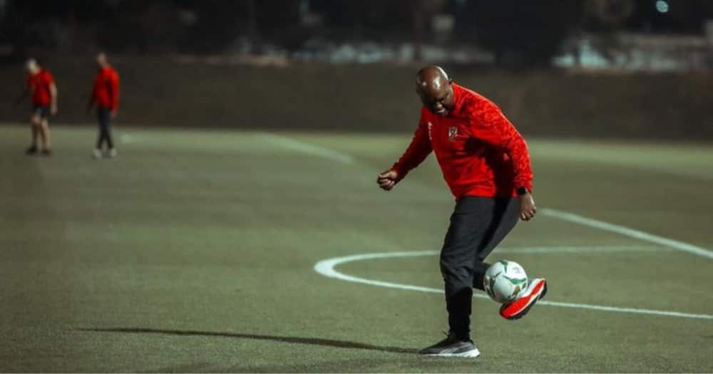 Al Ahly have reacted to Mamelodi Sundowns' apology for insults towards Pitso Mosimane. Image: @AlAhlyEnglish/Twitter