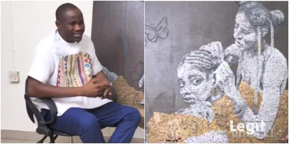 It came to me at night – Artist Segun Akano reveals why he makes sculptures with screws