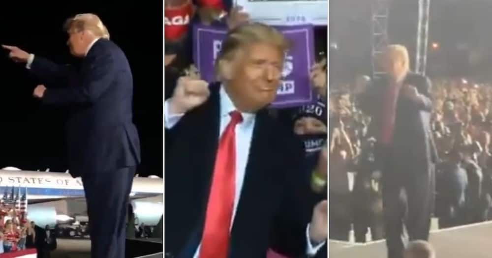 Remixed video shows Trump dancing to Jerusalema and Mzansi can't deal