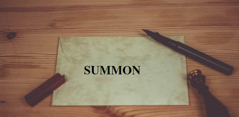 summons procedure