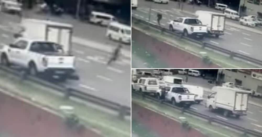 Hijacking gone wrong: Clip shows motorist shooting at thugs, SA reacts