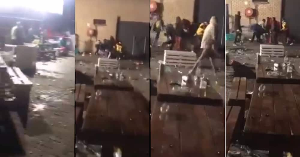 'Haibo': Fight Breaks Out at Local Tavern, Mzansi Hilariously Reacts