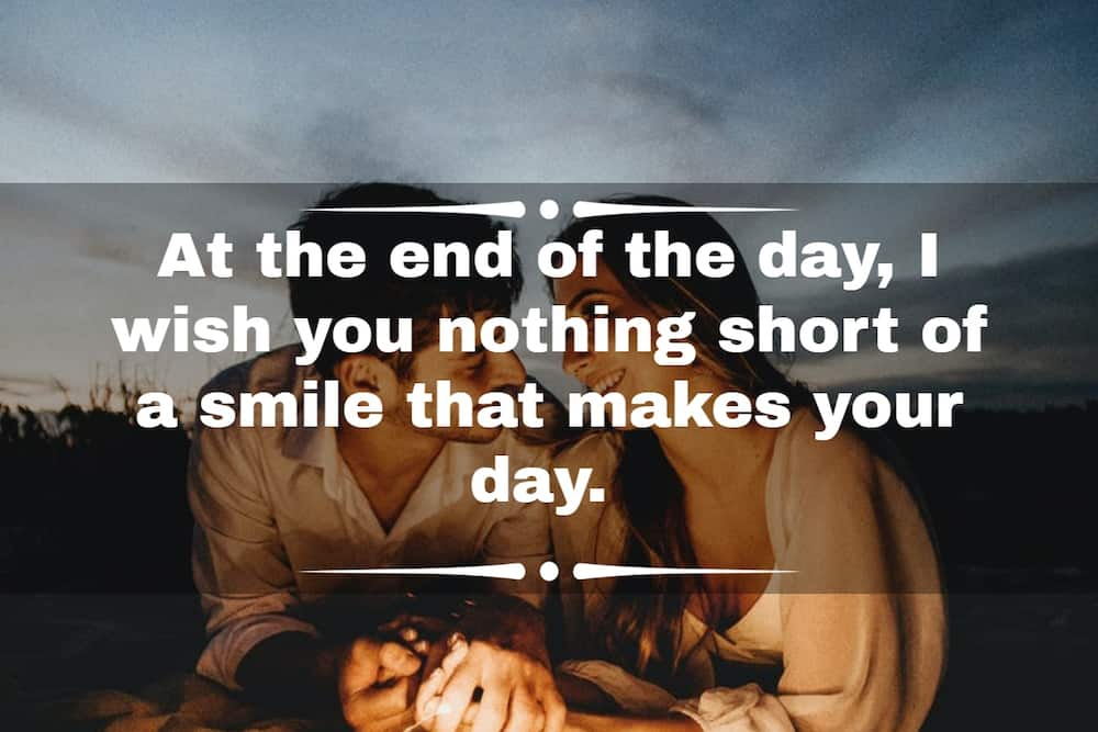 150+ sweet things to say to her and him in the morning, daytime or at night