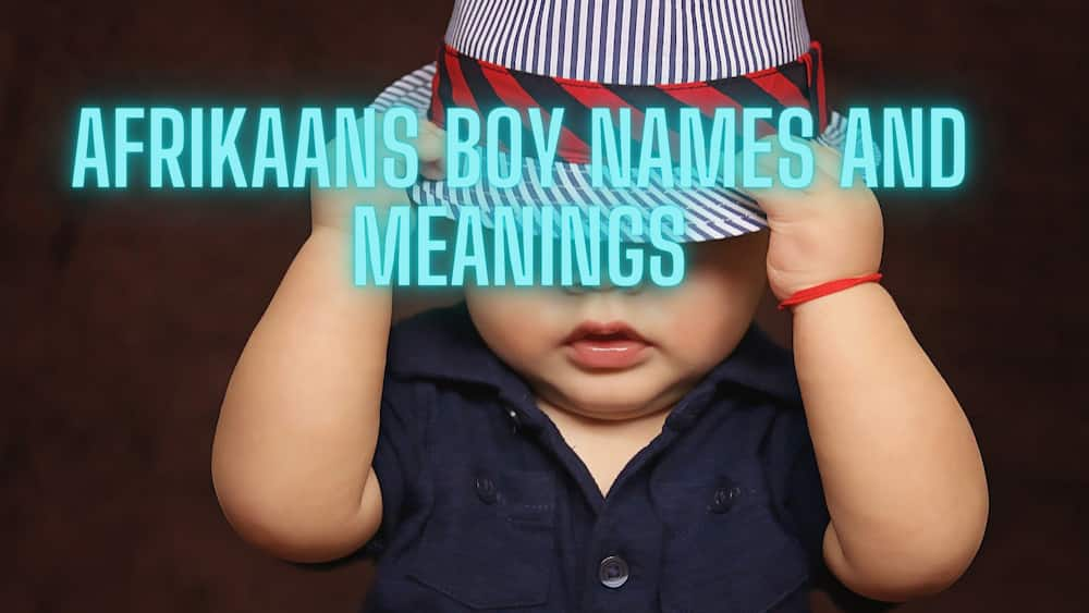 Popular Afrikaans names and meanings
