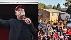 ANC butt of Julius Malema's joke at EFF rally in NC: 'Yellow t-shirt wearing people'