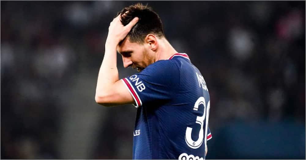 Lionel Messi, Paris Saint Germain, Ligue 1, Uber Eats, Lyon, Parc des Princes
