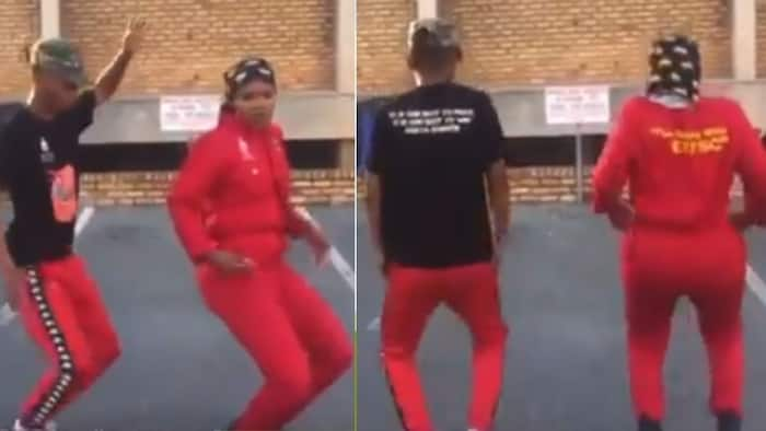 Friday vibes: EFF members wow Mzansi with their dancing skills in a video clip