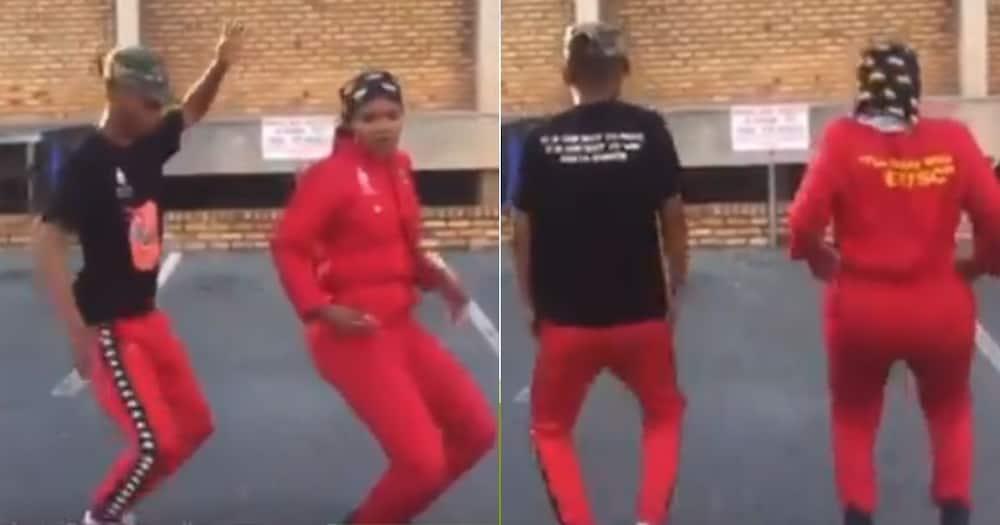 EFF, Members, Mzansi, Dancing, Video
