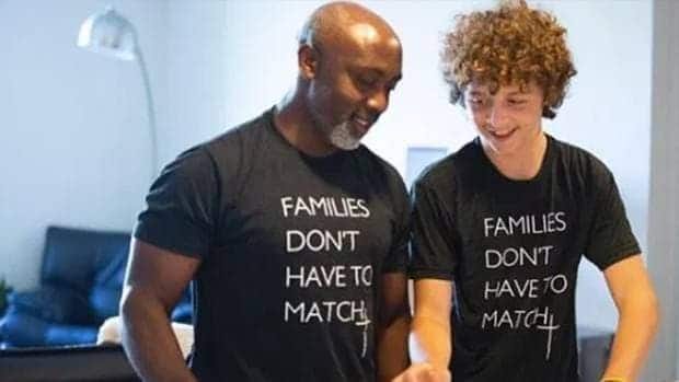 Single dad adopts 13-year-old boy who was abandoned the twice