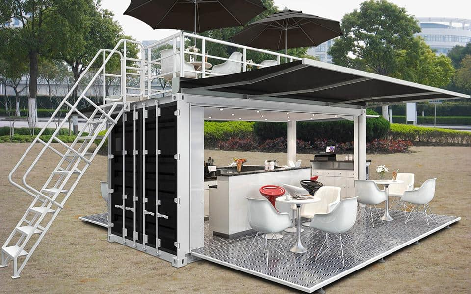 How much does it cost to build a house from shipping containers?