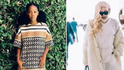 Thuso Mbedu lets Bonang Matheba know what a birthday Queen she is