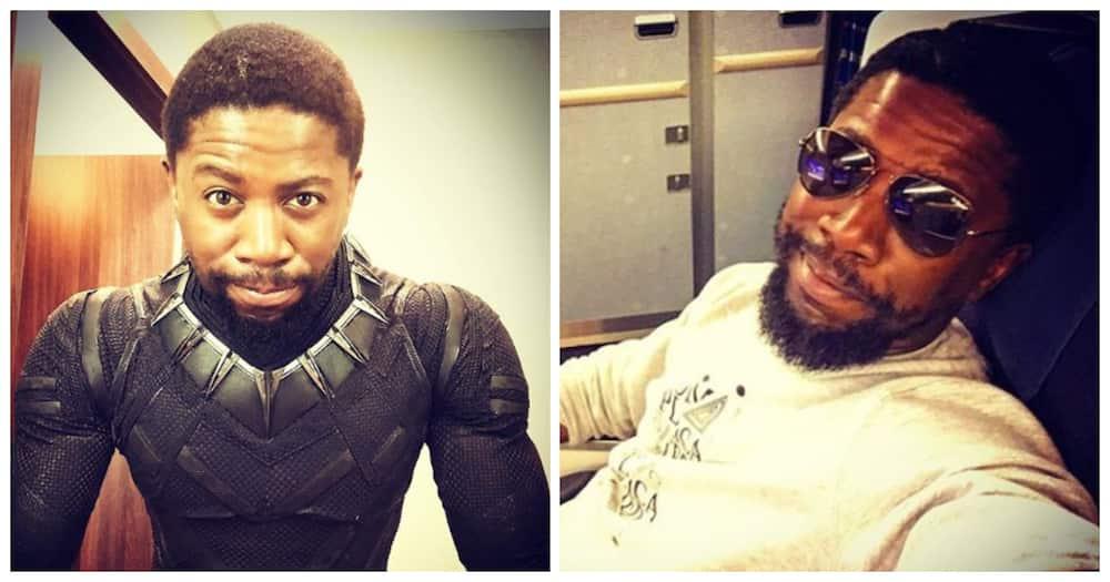 Chadwick Boseman: Atandwa Kani pays tribute with tattoo of actor