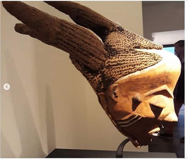 African tribal masks Pende mask