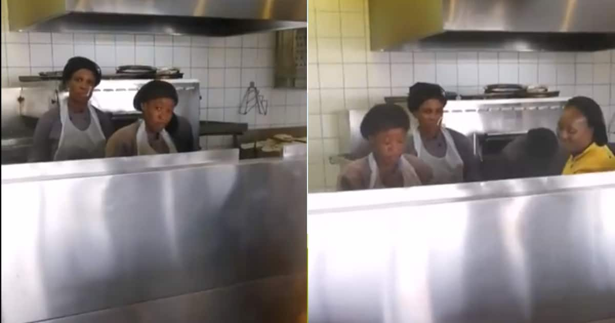 Saffas fuming as video reveals fast-food staff working without masks - Briefly.co.za