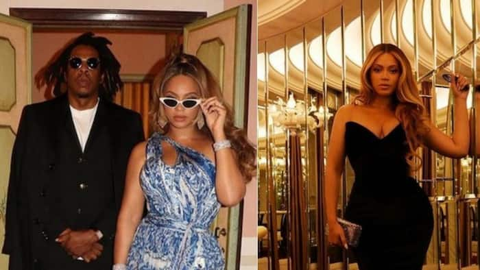 Beyoncé and Jay Z live it up in a boat, superstars look carefree and happy in pics