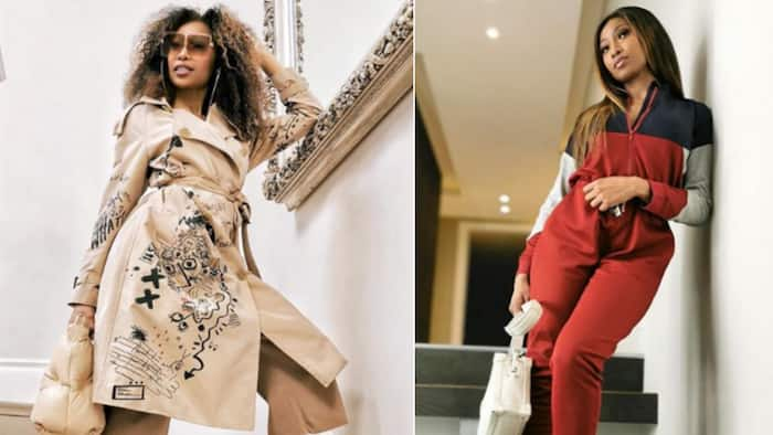 Enhle Mbali gets real and raw with fans in lengthy clip on social media