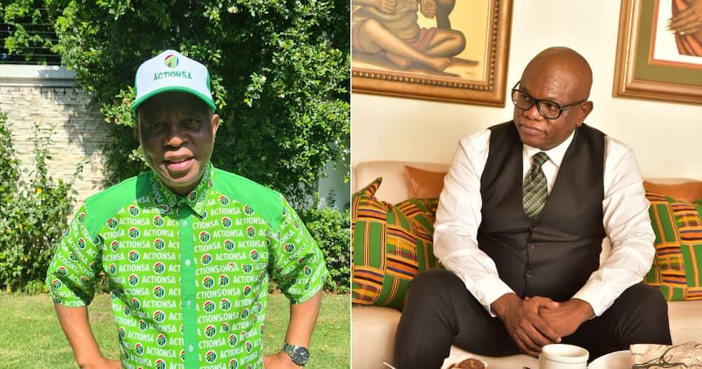 ActionSA leader Herman Mashaba pleased that Geoff Makhubo is under investigation