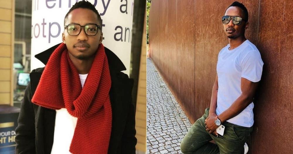 Andile Ncube, sad, canning, SABC , music show, 'Live Amp'