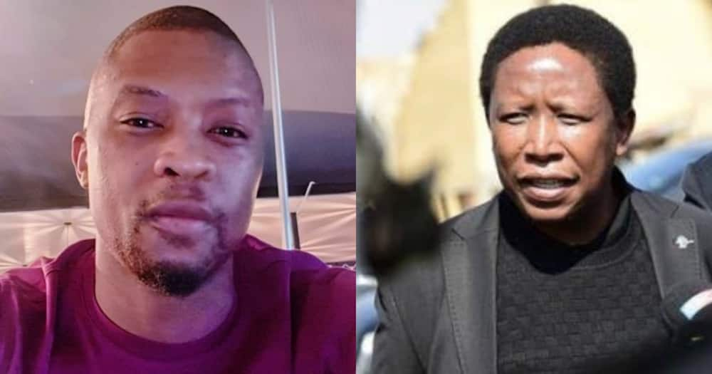 Mr Smeg Responds to Malema's Racism Rant by Offering Him a Shoulder