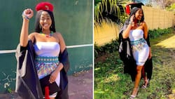 Send uncles: Stunning South African graduate shares beautiful snap, Mzansi reacts