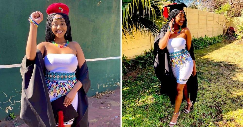 Stunning, South African, Graduate, Beautiful Snap, Mzansi