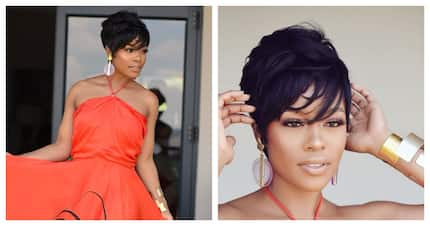 Nomzamo Mbatha looks absolutely beautiful with her new hairstyle