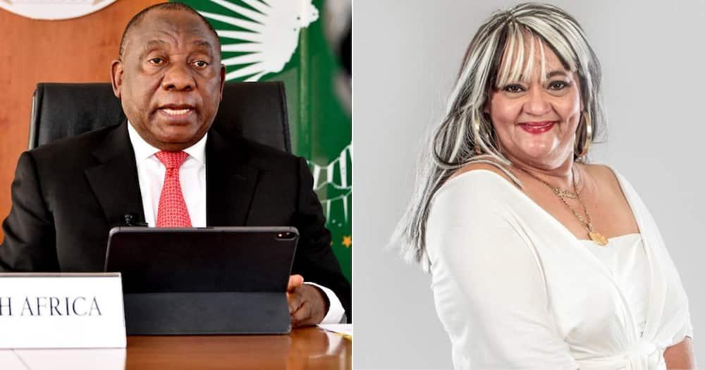 Cyril Ramaphosa pays tribute to Shaleen Surtie-Richards, Mzansi not happy