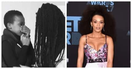 Pearl Thusi's hearted melted when a fan expressed her true emotions