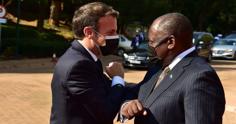 French connection: President Cyril Ramaphosa hosts French Preisdent Emmanuel Macron