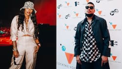 DJ Zinhle shows love to AKA, urges peeps to support his hustle