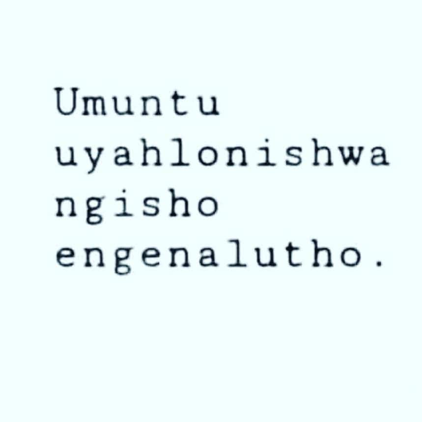Zulu proverbs, idioms, quotes, and phrases