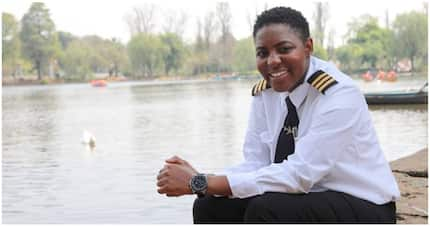 Young and inspiring pilot Tumi Carter Katisi wants to fly for SAA