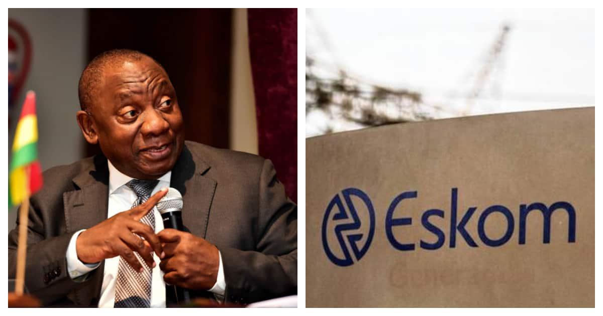 Eskom Loadshedding Pinterest: Ramaphosa Says Government Is Working With Eskom To End