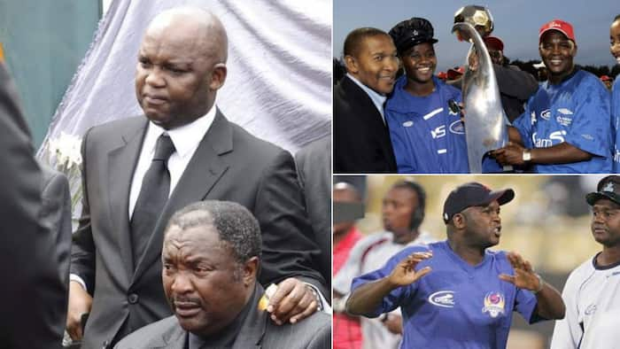 Pitso Mosimane remembers Thomas Madigage, Mzansi touched: 'He played a key role'