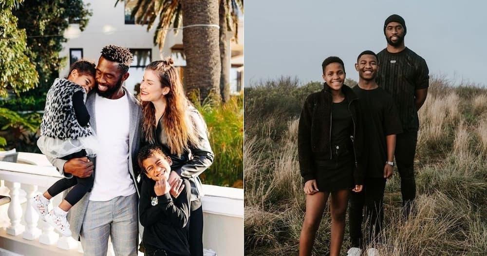 Springboks, Siya Kolisi, Rachel Kolisi, family