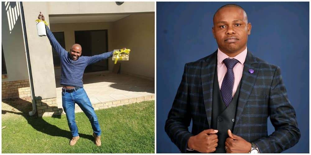 Man celebrates as he becomes landlord after 12 years of living as tenant