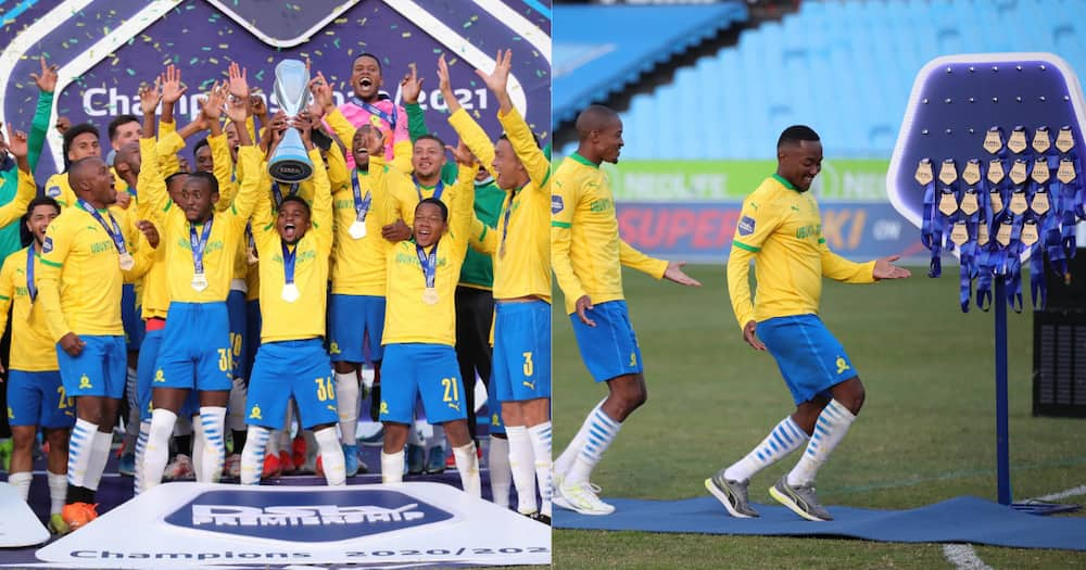Sundowns win the Champions League with style beating Cape Town City 3-0