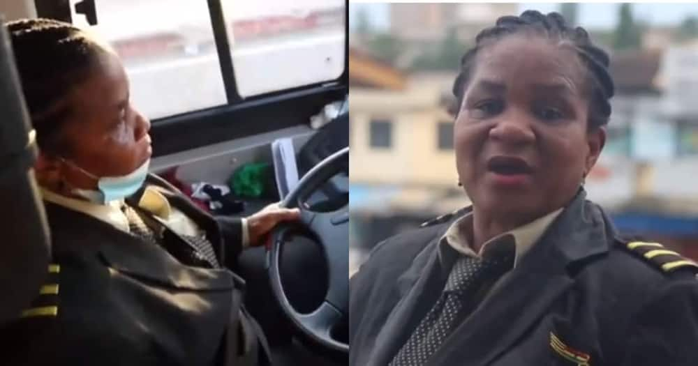 Women behind wheels: Meet Augustina Frimpong the female driver at STC bus transport
